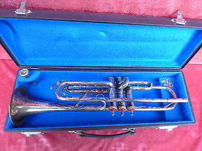 Old Trumpet Popken__with Case and Mouth Piece _