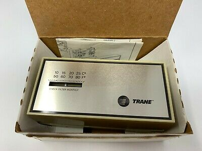 Nos Trane Bay28x182 Heatcool Thermostat W Box And Inst. Fast Free Shipping