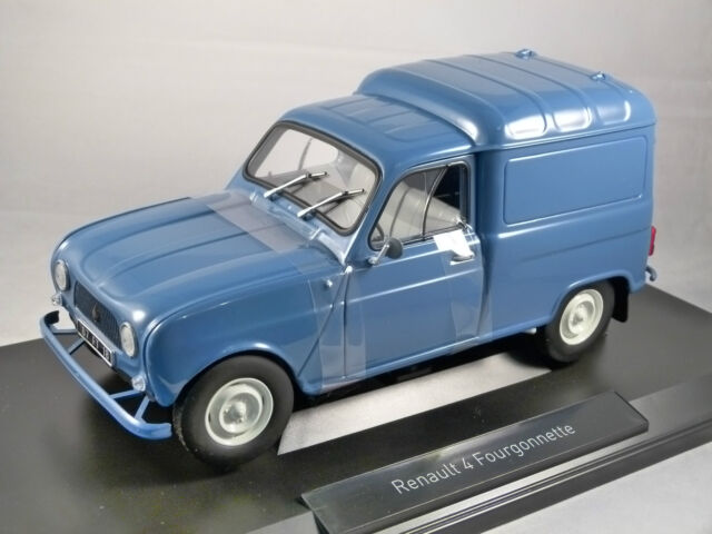 1965 RENAULT 4 Fourgonnette Van in Blue 1/18 scale model by NOREV