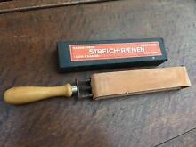 Vintage German Gens Solingen Leather Straight Blade Razor Strop West Pymble Ku-ring-gai Area Preview