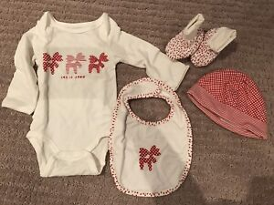 Let it Snow box set for baby 3-6 months.