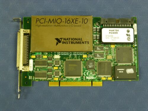 National Instruments NI PCI-MIO-16XE-10 Multifunction Data Acquisition Card