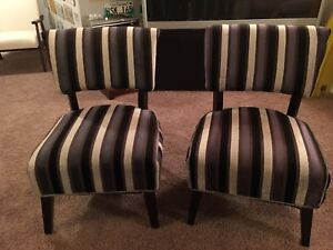 Set of living room chairs