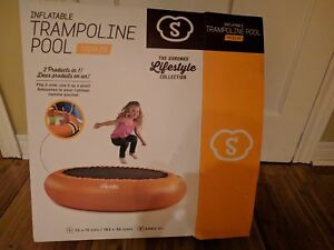 Like New Shrunks Inflatable 2 in 1 trampoline pool