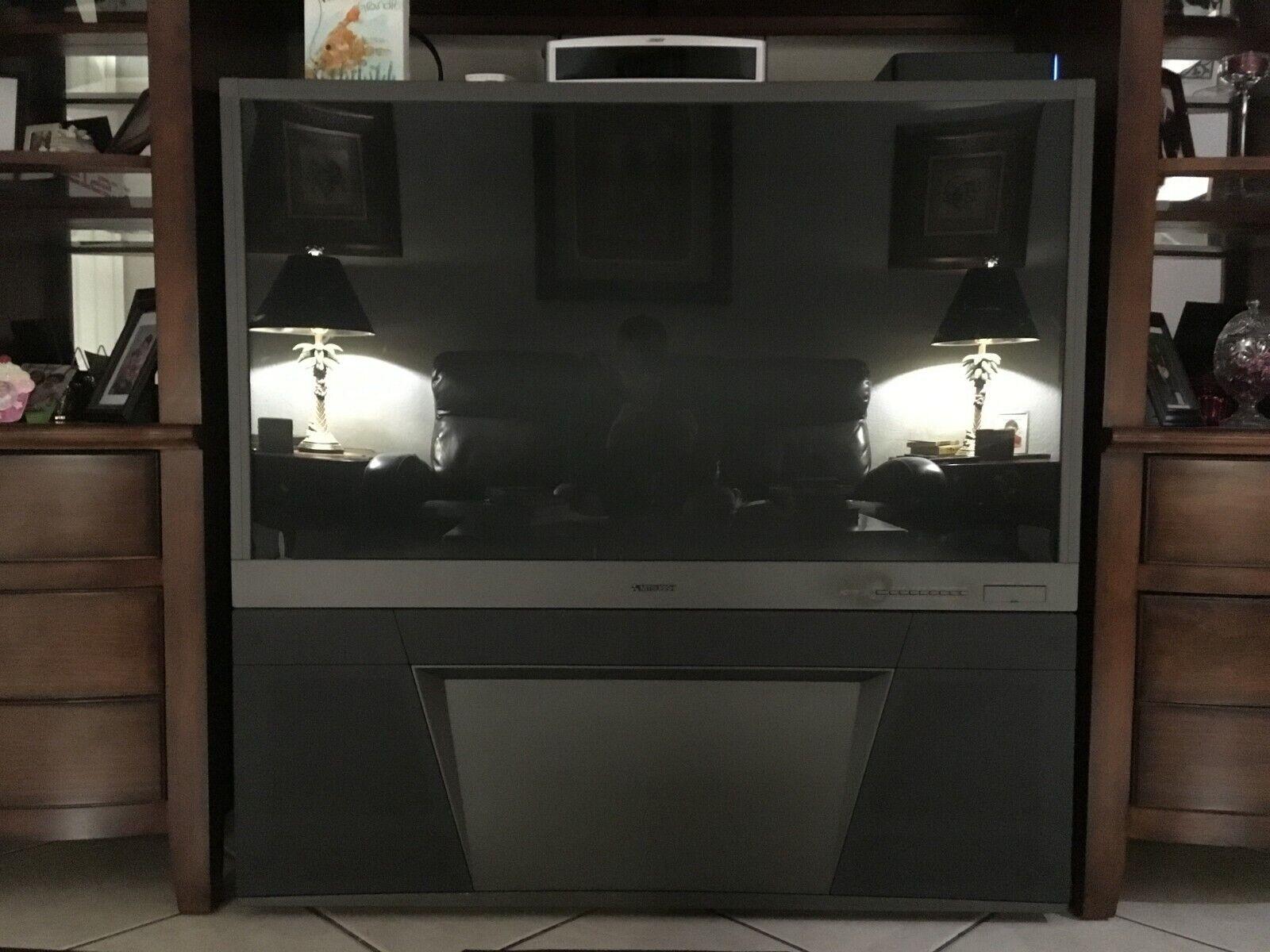"""Mitsubishi WS-55315 55"""" 1080i HD Rear-Projection Television"""