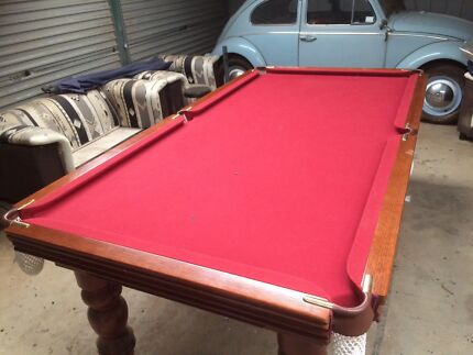 Slate Billiard table 7x3