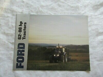Ford Series 62 - 86 Hp Tractors Brochure