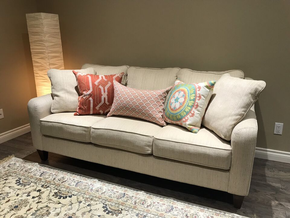 Reduced Genuine La Z Boy Talbot Sofa Couch Couches Futons