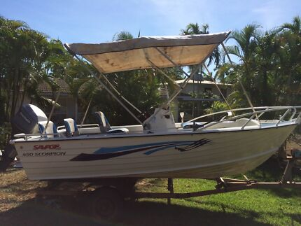 4.5 metre tinny 50 hp Leanyer Darwin City Preview