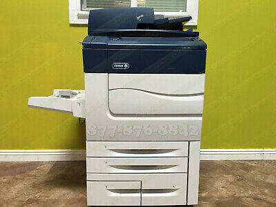 Xerox C70 Press Color Laser Digital Commercial Print Copy Scan Fiery 75ppm 425k