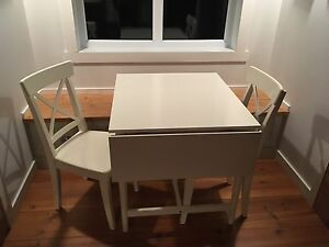 Table et chaise ikea ingatorp