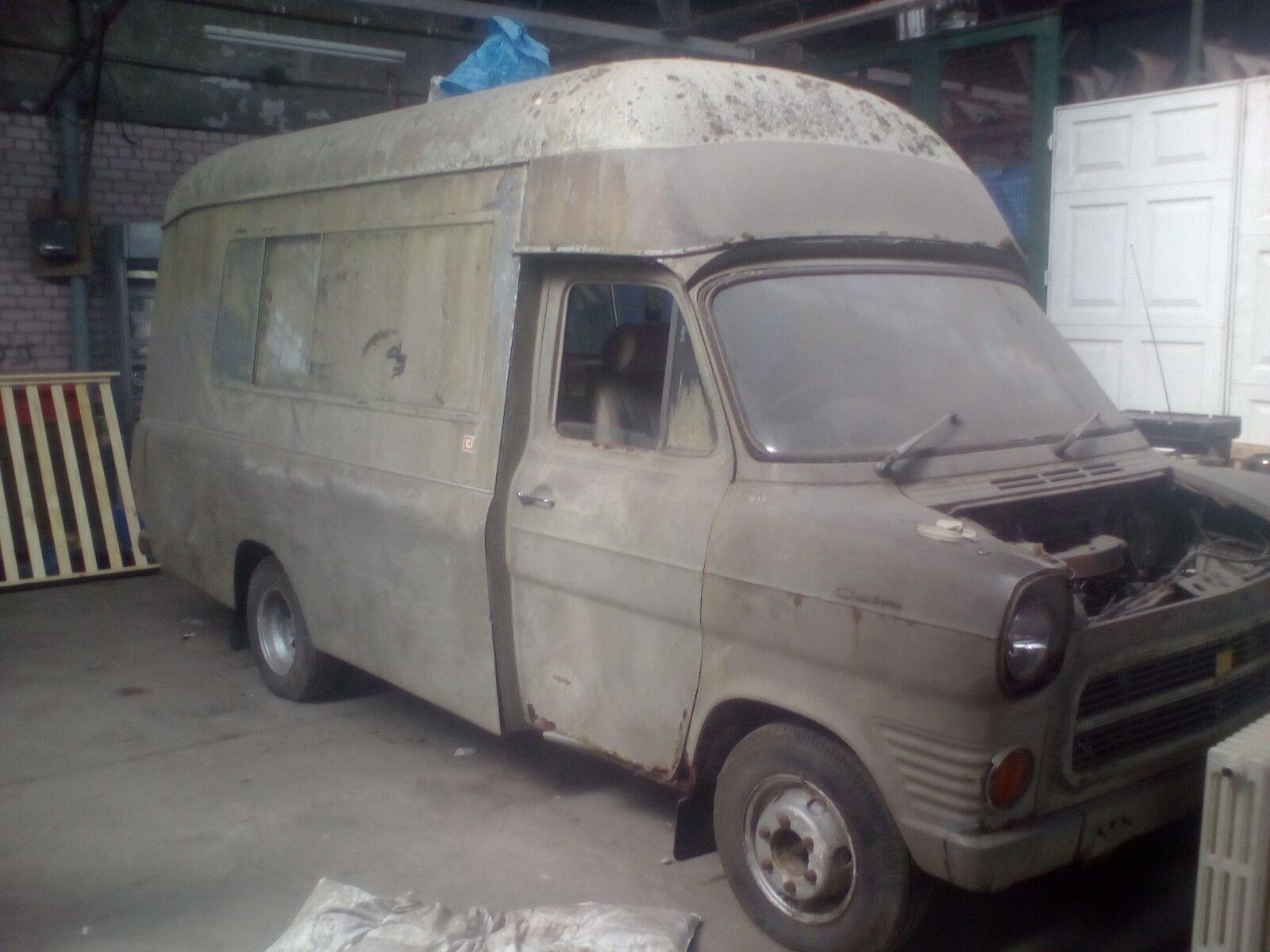 MK1 transit campervan coachworks