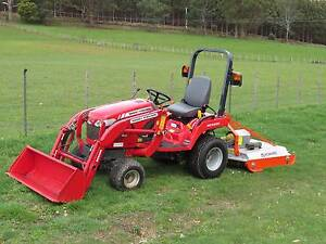 Massey Ferguson GC2400 compact tractor Kindred Central Coast Preview