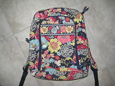 VERA BRADLEY Backpack Purse Messenger BOok SHoulder Tote Bag USED and PREOWNED](Bible Bags And Totes)