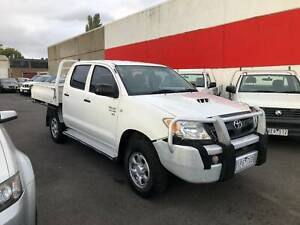 2006 Toyota Hilux SR dual cab cab chassis 4x4 Manual Ute Lilydale Yarra Ranges Preview