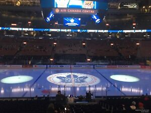 Leafs/Flyers: Centre Ice Reds Section 108 - $800/Pair