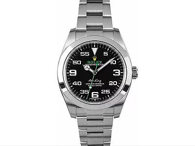 ROLEX OYSTER PERPETUAL AIR-KING 116900 | NEVER WORN & PRISTINE 2016 | MENS WATCH