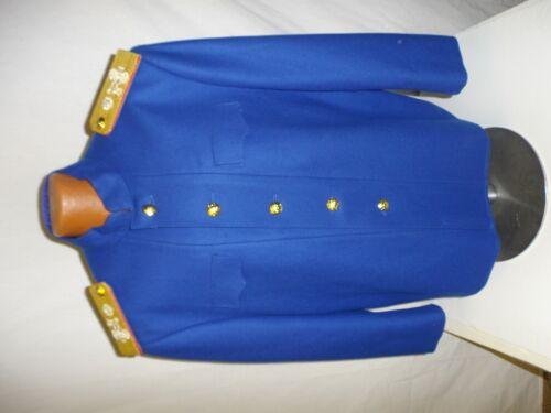U3B-111 WW 1 Imperial Russian Officer Blue Tunic Cap General size 50