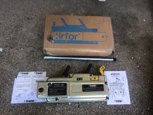 NEW* Tractel Griphoist T-508D Wire Rope Hoist TIRFOR  (2) AVAILABLE