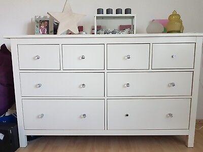 Gebraucht, Kommode HEMNES weiß von IKEA gebraucht kaufen  Hohenhameln
