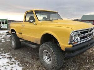1967 gmc custom 4x4 stepside 4x4