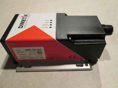 Dimetix 500630 Dpe-10-500 Laser Distance Sensor Used