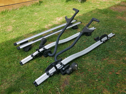 Thule Pro-ride bike roof carriers with crossbars