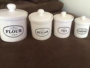 Set of 4 canisters Erskineville Inner Sydney Preview