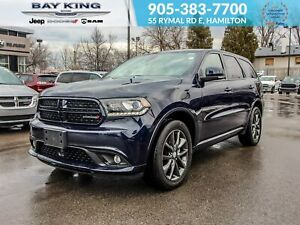 2018 Dodge Durango AWD, NAV, BLUETOOTH, REMOTE START, PARK ASSIS