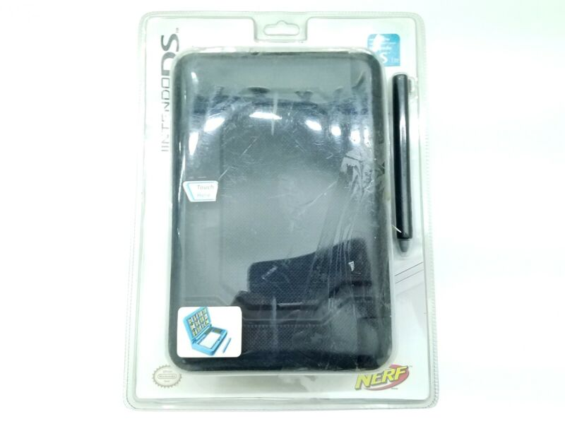 NERF SYSTEM CASE DS LITE OFFICIAL NINTENDO BLACK - NEW OPEN BOX