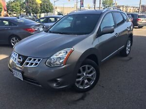 2012 NISSAN ROGUE SL|AWD•NAVI•RearCam•Leather•Roof