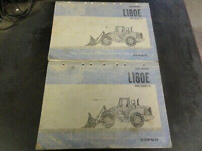 Volvo L180e Wheel Loader Parts Catalog Manual  6326697829