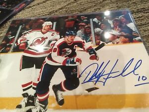 Dale Hawerchuk autographed picture
