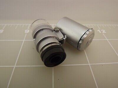 Uv 50x Mini Uvled Microscope New Great For Gem Identification Pocke Size