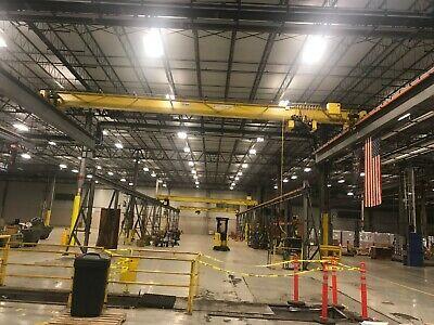 10 Ton Overhead Bridge Crane 46 Span X 150 Runway Hoist