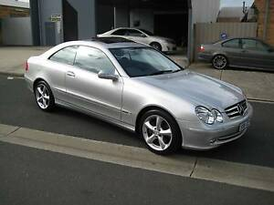 "2004 Mercedes-Benz CLK320 Coupe AVANTGARDE ""ONLY 120,000 KLMS"" Heidelberg Heights Banyule Area Preview"