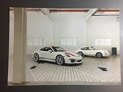 2016 Porsche 911 R Coupe Showroom Advertising Sales Poster RARE!! Awesome L@@K