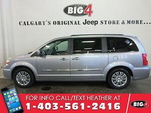 2016 Chrysler Town & Country Touring-L   Leather   Dual DVD   Su