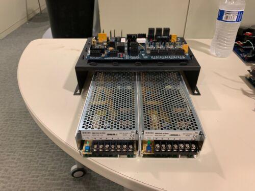 (2) SWS150-15 Power Supply 100~240 VAC  50~60hz  2.1A TDK-Lambda W/ DSX-1040PDM