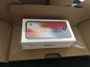 New Iphone X 256gb space grey sealed in box, unlocked 1700$