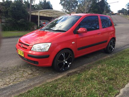 2004 Hyundai Getz manual 12 months rego! Kariong Gosford Area Preview