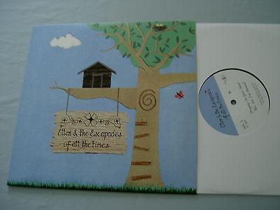 "ELLEN & THE ESCAPADES Of All The Times EP 2010 UK 10"" vinyl single"