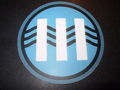 JACK WHITE Blue III Sticker LAZARETTO New Stripes Third Man Records Jack White Iii
