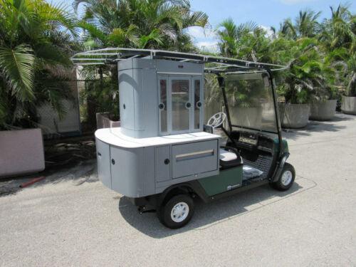 EzGo Cushman Refresher FS2 19th Hole Beverage Vending Type Golf Cart Gas Engine