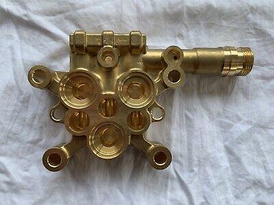 Karcher 5.550-018.3 Brass Cylinder Head. Fits HD 4/9 P Model 1.520-965.0
