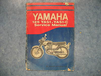 YAMAHA YAS1 YAS1-C SERVICE MANUAL BOOK GUIDE YAS 1 YAS1C 81 PAGES