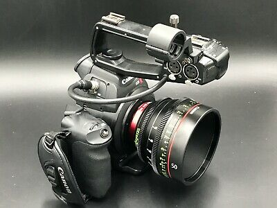 Canon EOS C100 Super 35mm Digital Film Camera Original Box & Accessories