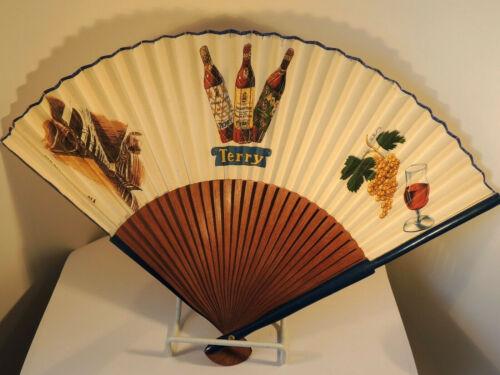 Puerto De Santa Maria Wine Fan over 9 inches (8782)