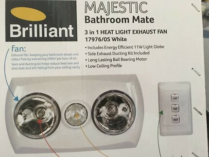 Majestic Bathroom Mate 3 in 1
