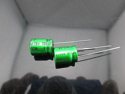 10pcs Japan Nichicon Muse Es Bp 100uf 16v 100mfd Audio Capacitor Caps